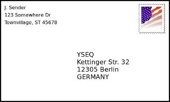 Prepaid Return Envelope Yseq Dna Shop